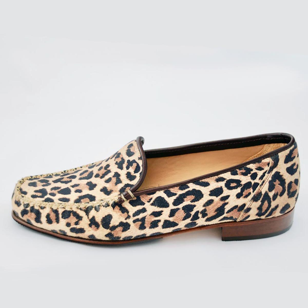 HB Italia - Lucy Leopard Loafer