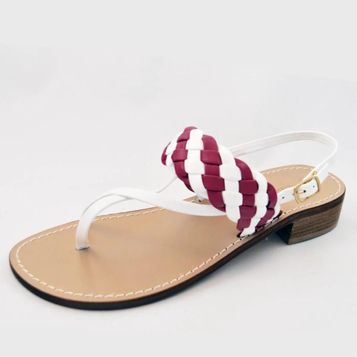 Amanda Jayne - Amalfi Pink Summer Sandal