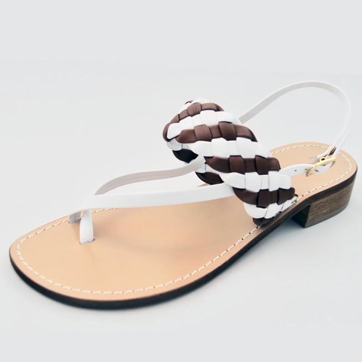 Amanda Jayne - Amalfi Tan Summer Sandal