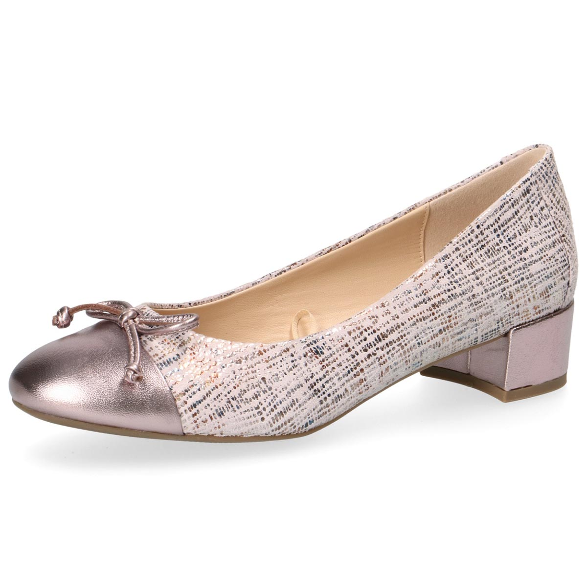 Mixie - Caprice Rose Court Shoe