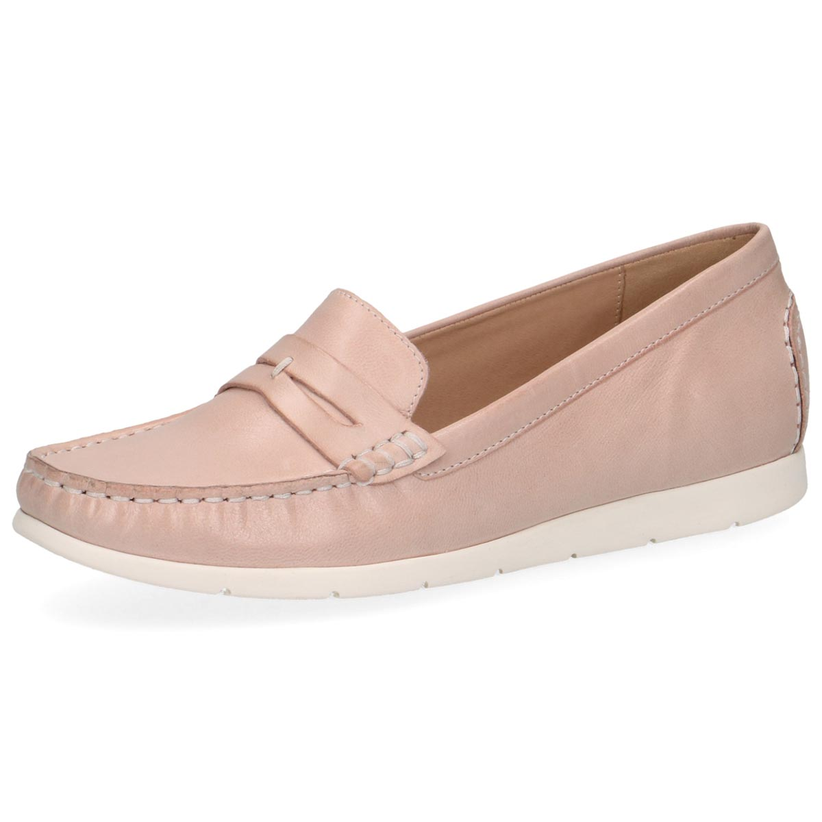 Leila - Caprice Soft Pink Loafer