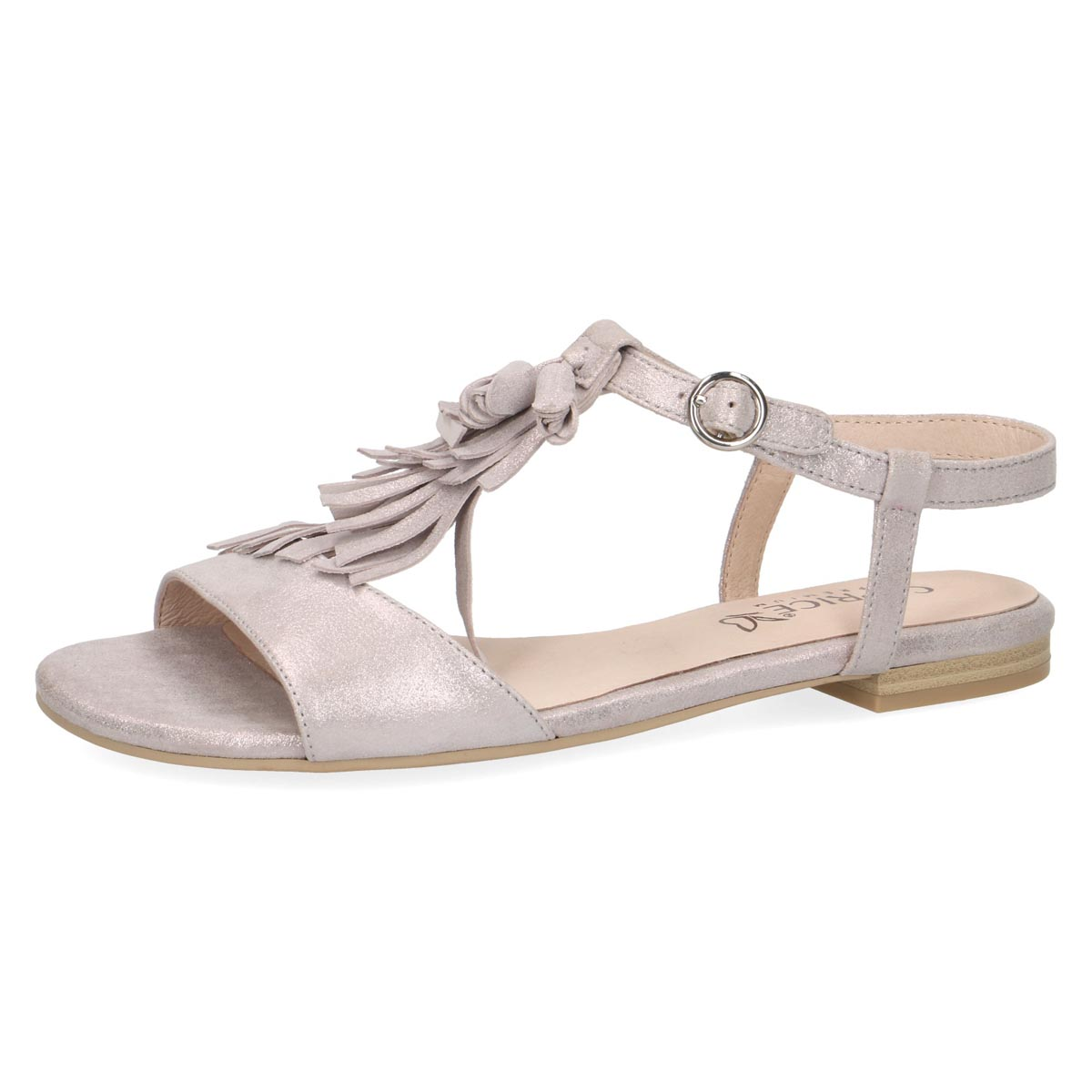 Pinko - Caprice Pink Shimmer Summer Sandal