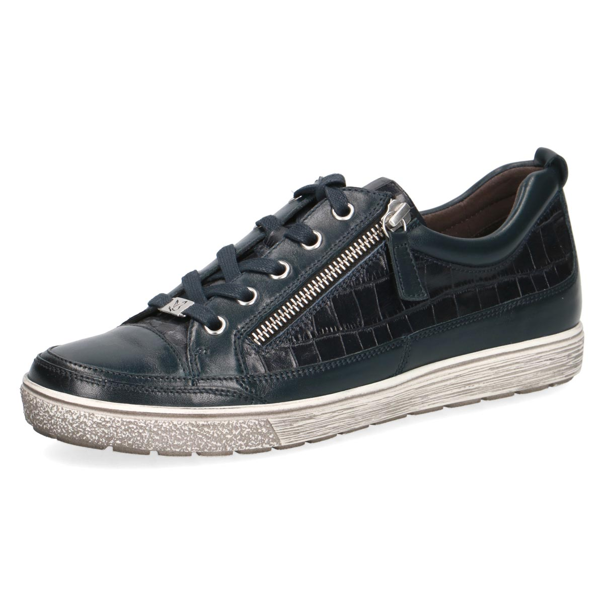 Caprice - Suky Navy Leather Sneaker
