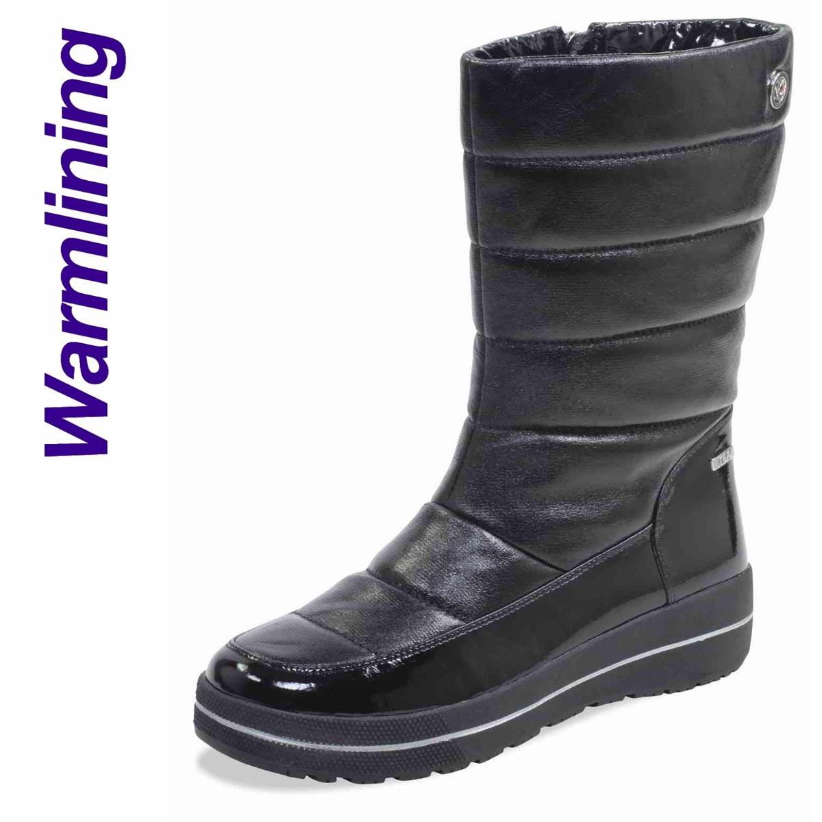 Wilma - Caprice Black Boot