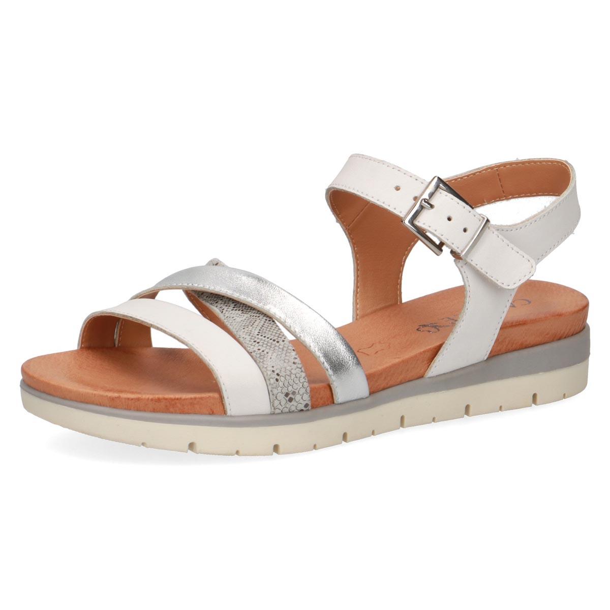 Caprice Liliana Grey Summer Sandal