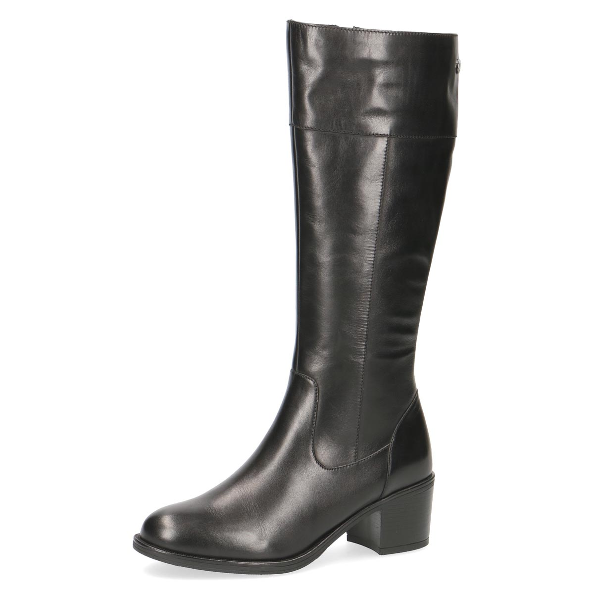 Caprice - Frankie Black Leather Long Boot