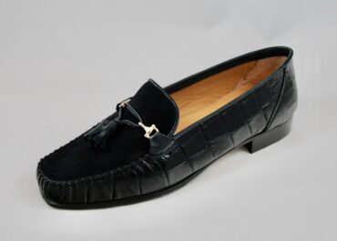 HB Italia Ellie Croc Loafer