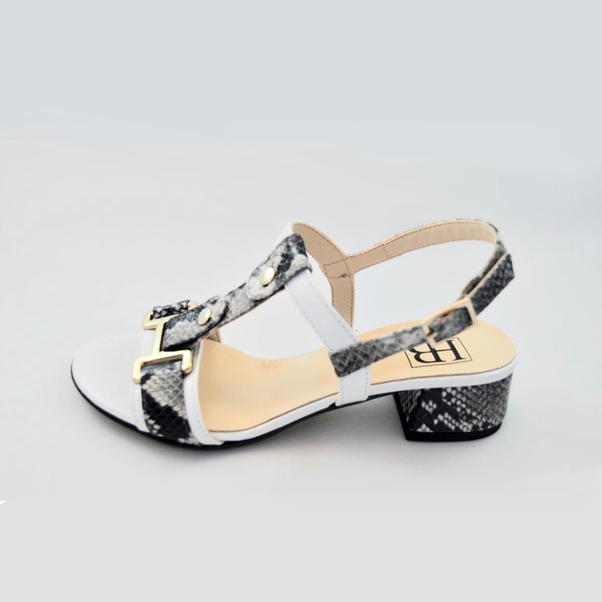 HB Italia - Lea Snake Print Sandal