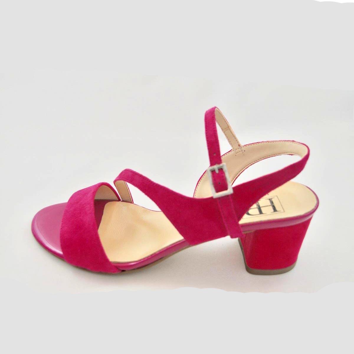HB Italia - Puglia Pink Suede Sandal