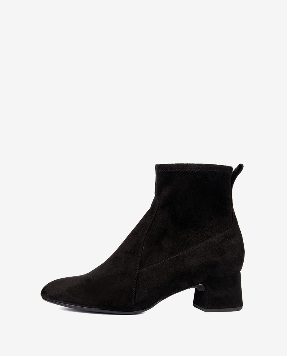 Unisa Lezama Black Suede Ankle Boot