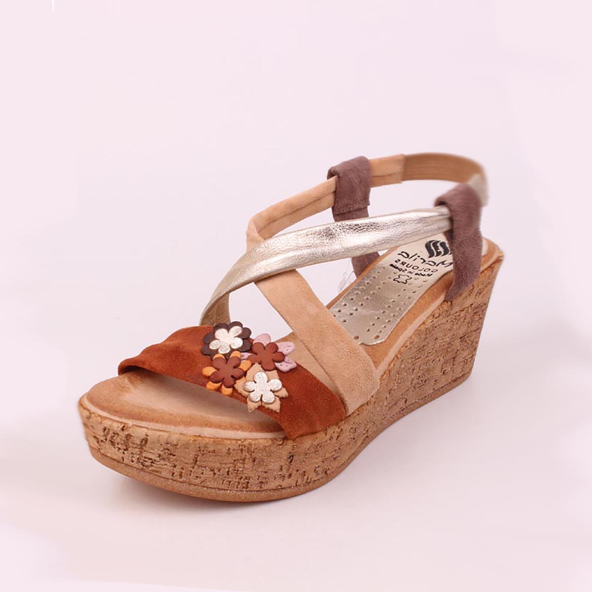 Daisy - Marila Wedge Summer Sandal