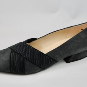 Peter Kaiser Zenja Grey Suede Shoe