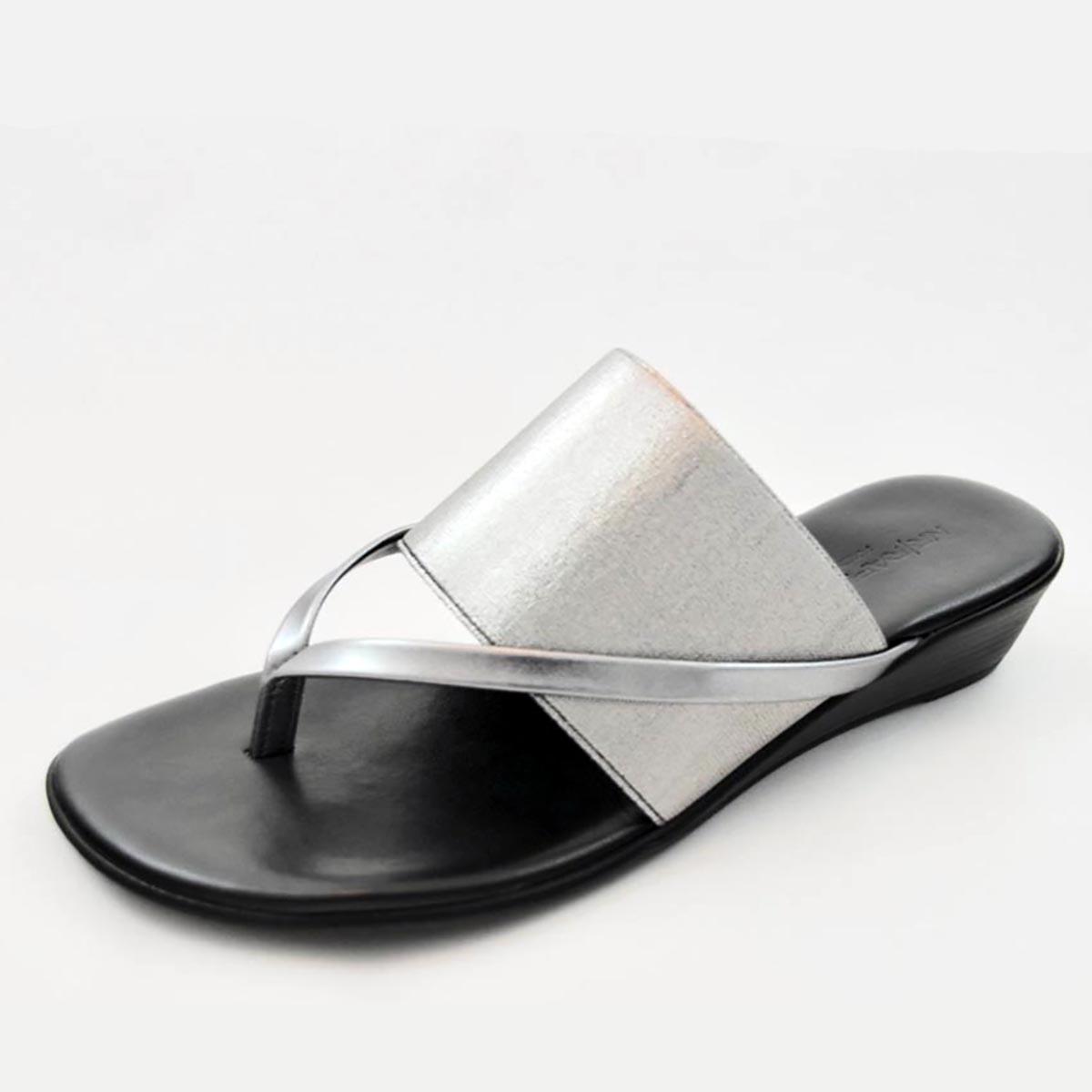 Rapisardi - Mirella Silver Wedge Sandal