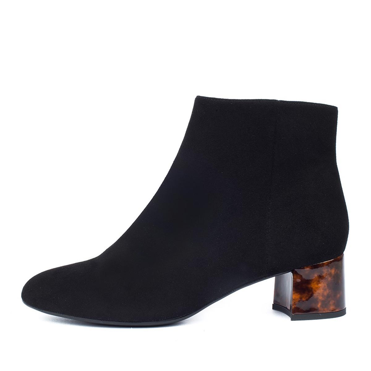 Unisa - Levi Black Suede Ankle Boot