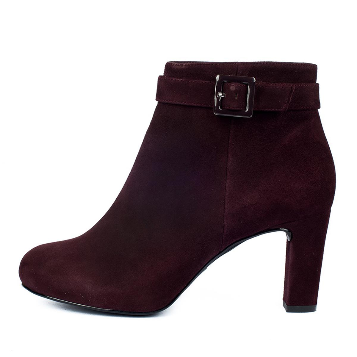 Unisa - Nitra Plum Suede Ankle Boot