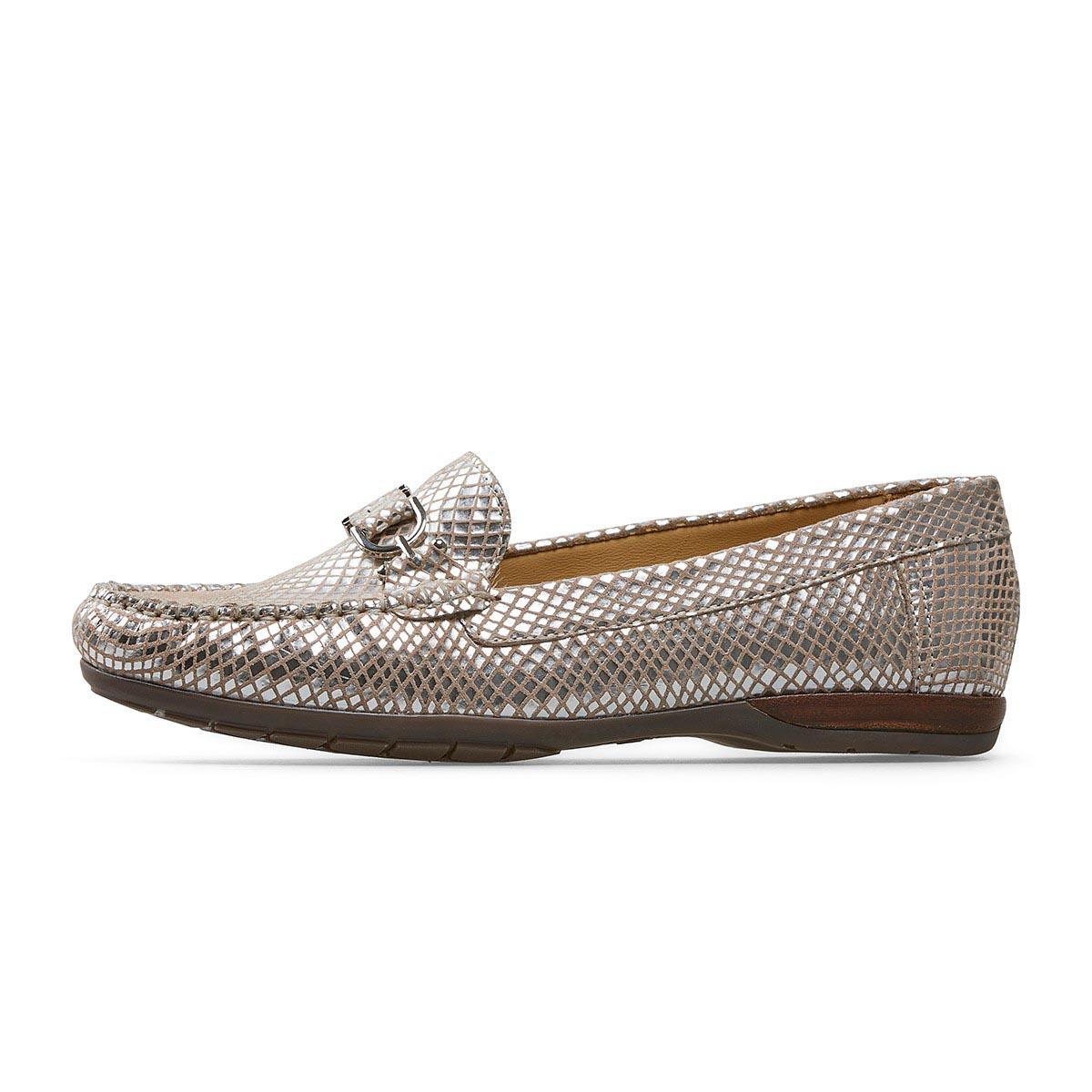 Van Dal - Bliss Silver Loafer
