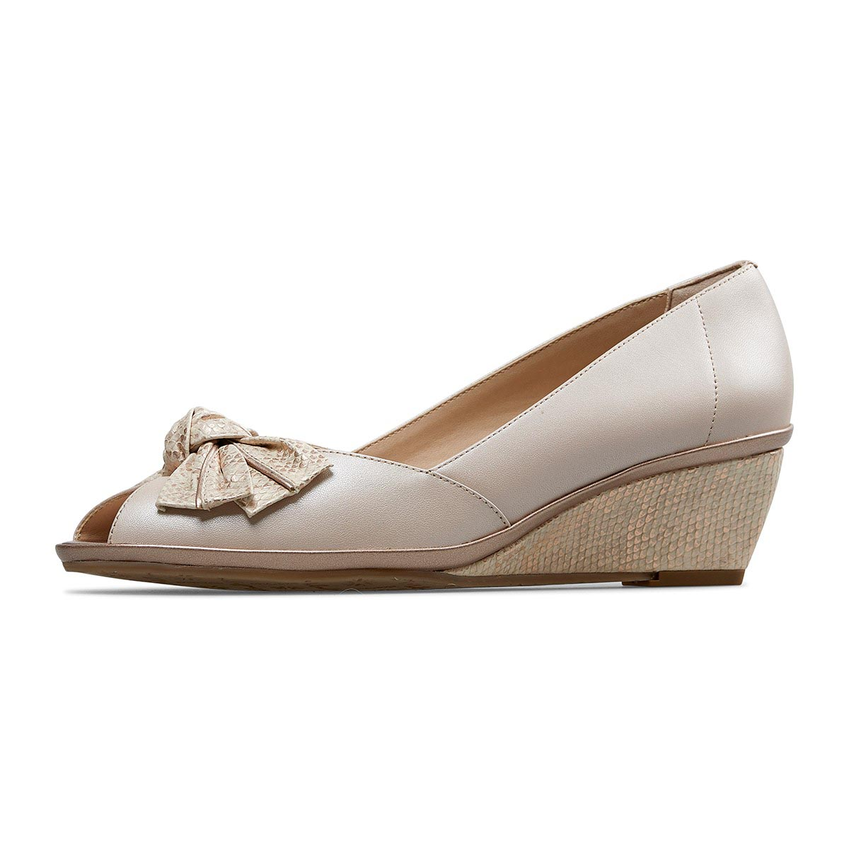 Van Dal - Florida Sesame Wedge Peep Toe