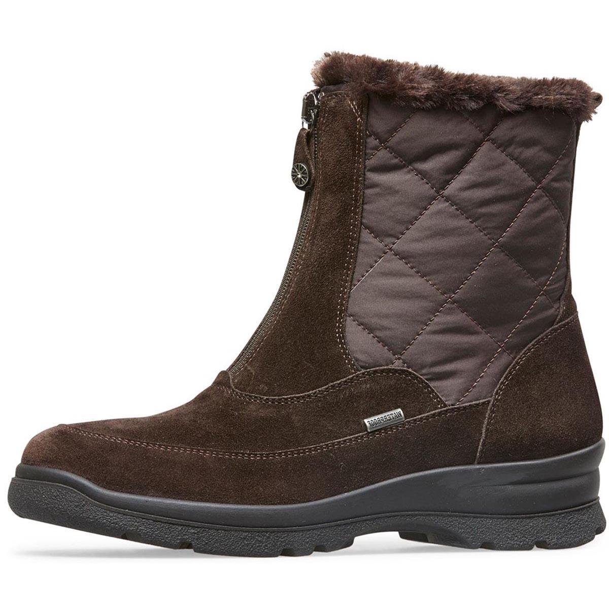 Nevis - Van Dal Brown Waterproof Boot