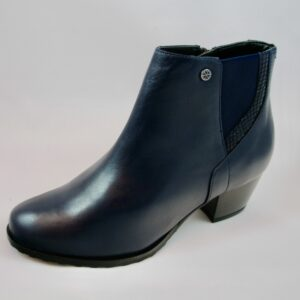 Van Dal Swanton Midnight Leather Ankle Boot