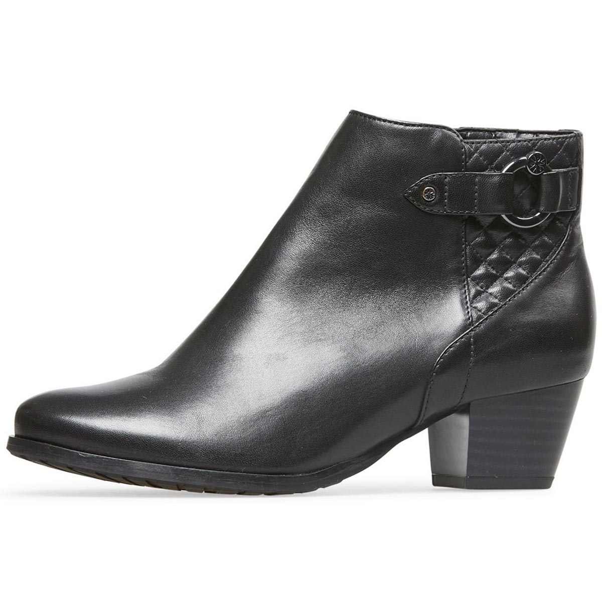 Van Dal - Tawny Black Leather Ankle Boot