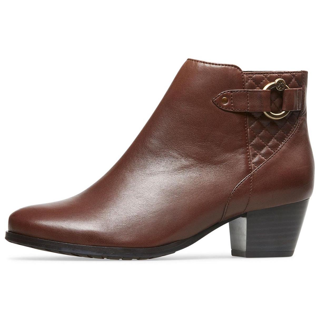 Van Dal - Tawny Chestnut Leather Ankle Boot