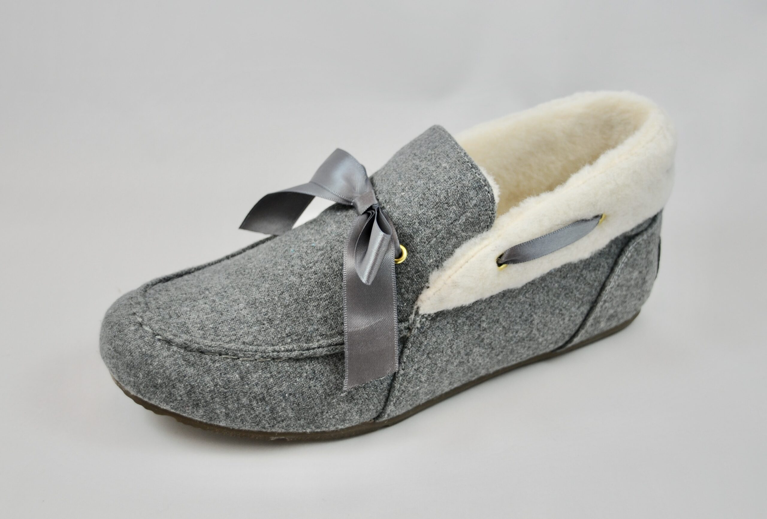 Vionic Shirley Charcoal Slipper