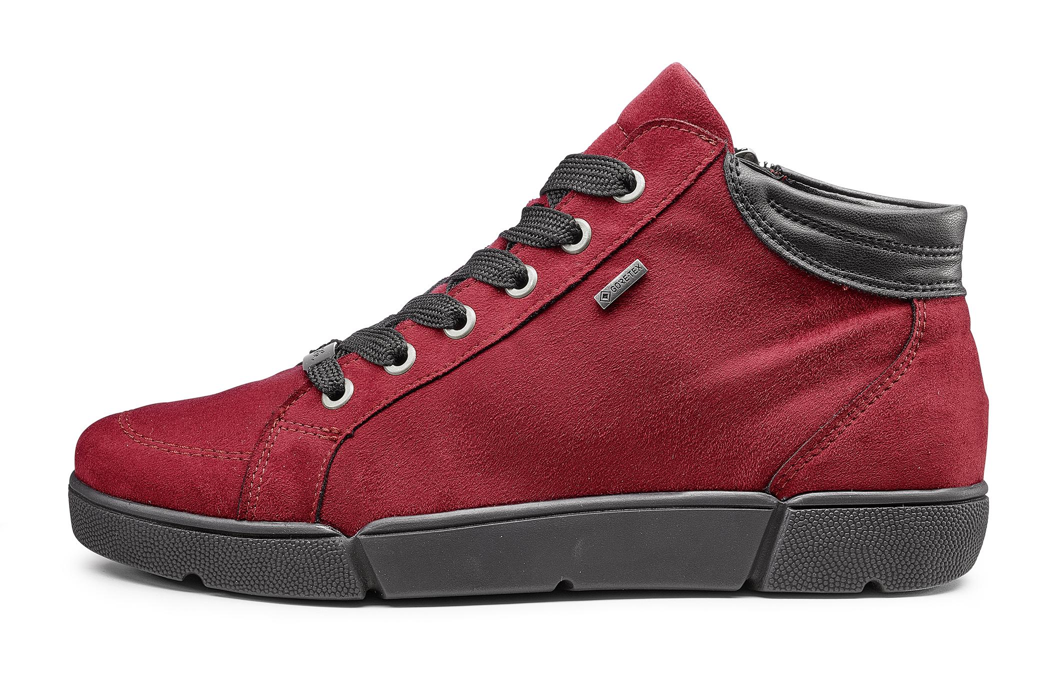Ara Rubin Red Goretex Ankle Boot