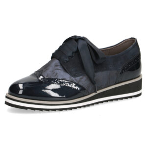 Caprice Jeanette Navy Brogue